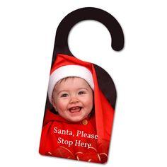 Personalised door knob hanger from £22
