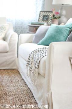 Beau Ikea Farlov Slipcovered Sofa Review | Willow Street Interiors