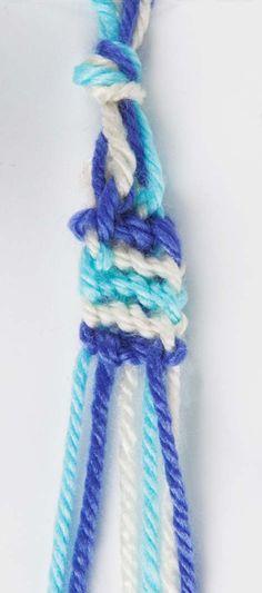 Cómo hacer pulseras de la amistad   crochet hoy
