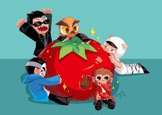 The Magic Tomato!!!!!!!