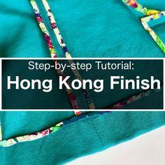 Hong Kong Seam Finish – Part 1