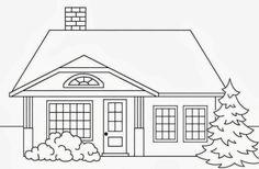 Image Result For Sketsa Rumah Sederhana Tingkat