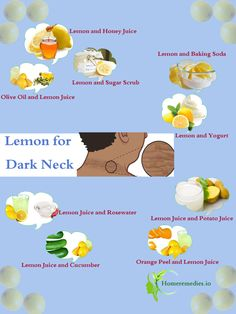 How to get rid of black neck naturally? DIY ways to use lemon for dark neck whitening treatment. Best homemade neck whitening creams, scrubs for a fair neck