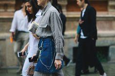Streetstyle на Неделе мужской моды в Милане. Часть 1   Мода   STREETSTYLE   VOGUE