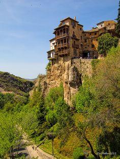 Spain.  Cuenca, Castille la Mancha.   Photograph via Flickr.  Photo taken on May 13, 2012.