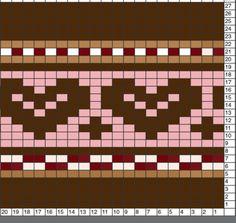 Ravelry: suzymarie's Chocolate Hearts Dress