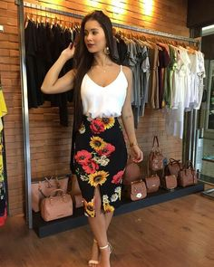 Cute fashion outfits ideas – Fashion, Home decorating Cute Fashion, Look Fashion, Girl Fashion, Fashion Outfits, Summer Outfits, Casual Outfits, Cute Outfits, Church Outfits, Business Outfits