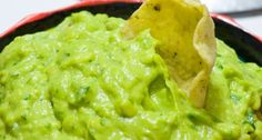 "One pinner said ""This is my favorite guacamole! It has a SECRET healthy ingredient that adds nutrition and cuts calories!"""