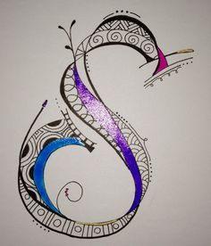 zentangle letter s - Google Search