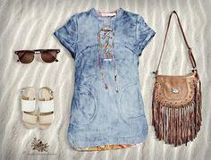 Você adora aquela produção fashion e descomplicada? Olha só a nossa dica de look para arrasar... www.zahramodas.com.br