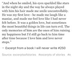 Excerpt from a book I will never write #250