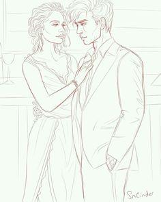 ELAIN AND AZRIEL
