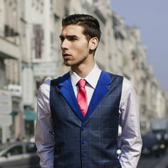 Good morning from the team Dandylion Style ModelDragan Stambolija Photo: Neil Doubleyou Styling and design :Igor Personal-Style Business support: Catalina Balan Shoot in Paris. Dandylion style cool #waistcoats off the peg or #bespoke.
