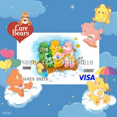 Now you can pay with a card that truly CARES! Click on the link to get more information on how to get your very own Care Bears prepaid debit card from CARD.com! https://www.card.com/gallery?chn=lic&afid=184&tag=care%20bears&pid=297