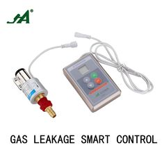 Security Home JA8801 Smart Timer off valves Gas Leakage Automatically Close Valve Brass kitchenware Cook Set magnetic valve