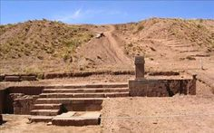 Bolivia detects buried pyramid at Tiahuanaco site.  The government of Bolivia announced it will start exploratory excavations this year at the ancient fortress of Tiahuanaco after a buried pyramid was detected. Excavations at the pyramid of Akapana, Tiahuanaco [Credit: EFE
