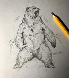 Psdelux is a pencil sketch artist based in Tatabánya, Hungary. He usually draws animal sketches. For more view website Animal Sketches, Animal Drawings, Drawing Sketches, Pencil Drawings, Art Drawings, Pencil Tattoo, Bear Sketch, Bear Drawing, Bear Art