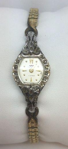 Waltham Very Rare Vintage Swiss 17J Jeweled 10K Rolled Gold Plate Watch #WALTHAM