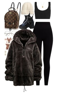 """Set 893 -"" by xjulie99 ❤ liked on Polyvore featuring Pepper & Mayne, Hunza G, Rachel Essex, Louis Vuitton and Gucci"
