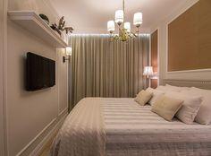 Inspiração para quarto de casal clássico  Projeto by Patrcia Weller | Foto by Mariana Machado | @_decor4home