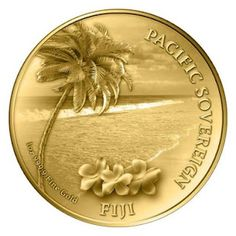 1oz Pacific Sovereign Gold .999 $100 Fiji Legal Tender New Zealand Mint Proof Coin