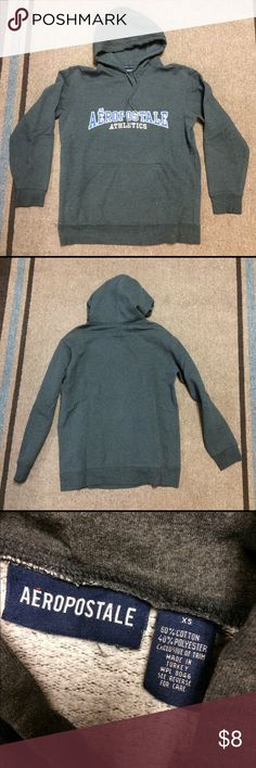 Aeropostale Gray Hoodie Sweatshirt Extra Small Good condition Aeropostale Athletics Hooded Gray Sweatshirt Hoodie Men's Size Extra Small. Contact me with any questions and check out my other listings! Aeropostale Shirts Sweatshirts & Hoodies