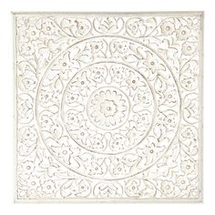 Wandpaneel Ranakpur weiß