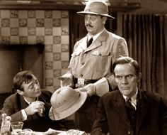 Arsenic and Old Lace (1944) 'Well I'm off to Panama to dig another lock, (tap, tap) its down south You know!'