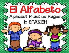 Students will practice handwriting, initial sound, and vocabulary all in these worksheets A-Z.    If you liked these, please visit my store and take a look at my other Spanish worksheets and Spanish No Prep monthly packets.