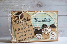 Box made by DT member Wybrich with Collectables Chocolate doesn't ask (COL1365), Cocolate is the answer (COL1366) and Craftables Circle and Flower Stitch (CR1248) by Marianne Design