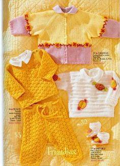 Receita Tricô Fácil   Revista de Tricô para Bebês(Em ingles)     Creation Annyblatt-Revista Tricô Criação annyblatt Para Bebês   Leia ma...