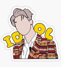 kchat is an independent artist creating amazing designs for great products such as t-shirts, stickers, posters, and phone cases. Preppy Stickers, Pop Stickers, Tumblr Stickers, Printable Stickers, Kpop Logos, Kpop Diy, Kpop Drawings, Bts Chibi, Journal Stickers