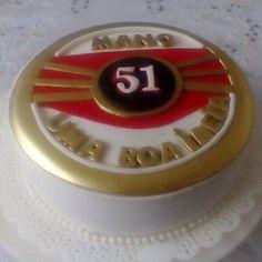 Bolo Cachaça 51!!! #amoconfeitar #bolo #pastaamericana #cake #cachaça51