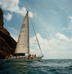 Sailing. #sailing #sailboat