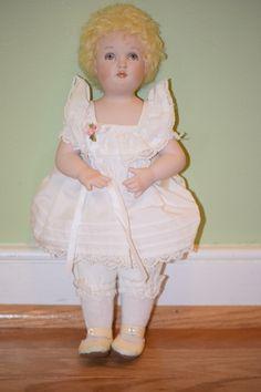 Vintage Doll Bisque Joyce Stafford NIADA Artist Jenny Dressed Adorable