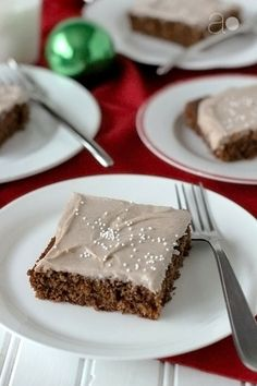 """ambrosia: Gingerbread Sheet Cake for Hodgson Mills's """"Have a Grain Holiday!"""" Contest and a GIVEAWAY!"""
