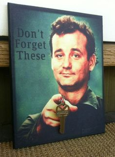 SALE TODAY ONLY Key Holder BiLL MuRRAY Key Holder and by BoWinston