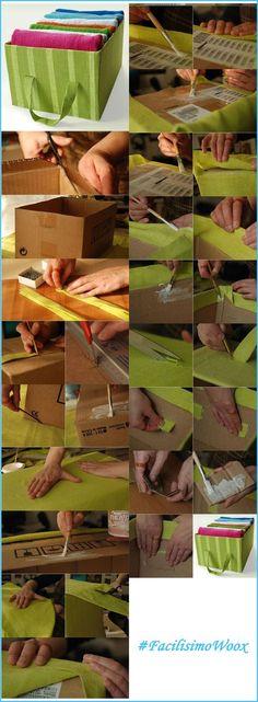 Otra idea para crear algo nuevo mediante el reciclaje de materiales.   #FacilisimoconWoox   #DIY   #Reciclaje: