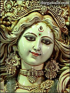 ma-durga-statue Saraswati Goddess, Kali Goddess, Indian Goddess, Lord Krishna Hd Wallpaper, Shiva Lord Wallpapers, Lord Durga, Durga Maa, Nav Durga Image, Navratri Wallpaper