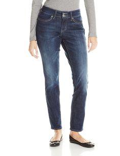 Levi's Women's 529 Curvy Skinny Jean, Glacier, 4 Medium