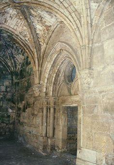 Portal in the Crusader Chapel - Krak de Chevaliers (photo by Galen Frysinger)