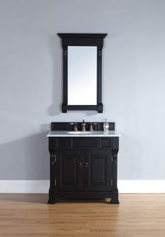 "Brookfield 36"" Single Cabinet, Antique Black"