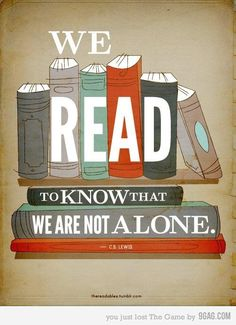 Reading  binds us together.