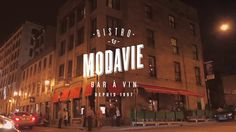 Modavie Bistro- amazing food, jazz every night in Old Montreal. Mussels are to die for.