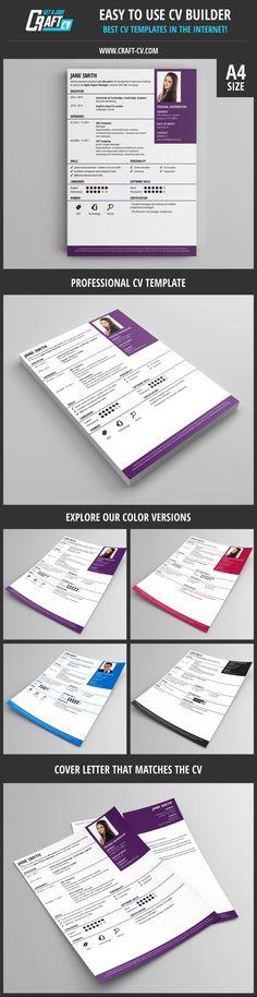 creative cv cover letter modern cv template visit craft cv
