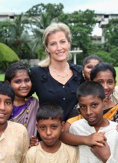 Sophie de visita à Índia