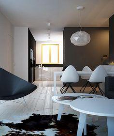 Living room interior design Katowice - archi group