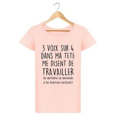 T-shirt les licornes existent pour femme - brenda. Graphic T Shirts, Geek Shirts, T Shirts For Women, Clothes For Women, Note To Self, Dress Codes, Boutique, Funny Tshirts, Geek Stuff