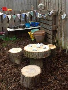 cool Top 20 of Mud Kitchen Ideas for Kids Mud kitchen (also known as an outdoor kitchen or mud pie kitchen) is one of the best resources in DIY projects for kids to play outside as kids playhouse. Gazebos, Outdoor Play Spaces, Outdoor Play Kitchen, Natural Play Spaces, Outdoor Kitchens, Natural Playground, Playground Ideas, Kids Outdoor Playground, Preschool Playground