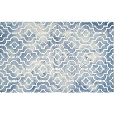 Safavieh Jefferson Quatrefoil Dip-Dyed Wool Rug, Multicolor